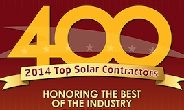 Radiance Ranks Among 2014′s Top Solar Installers