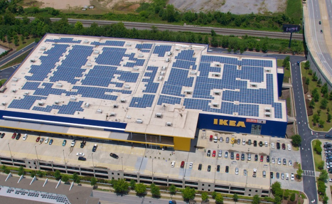 Ikea Announces Plans to Produce 100% of its Power by 2020