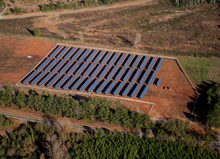 Woodland Solar Power Plant